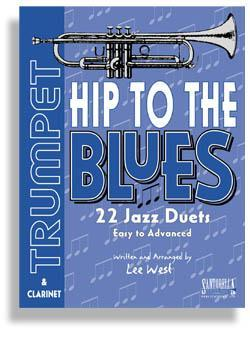 Media Hip To The Blues with CD * Jazz Duets for Trumpet