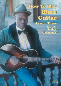 Media How To Play Blues Guitar, Lesson 3  DVD