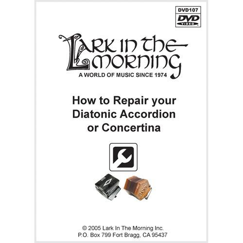 Media How to Repair your Diatonic Accordion or Concertina DVD