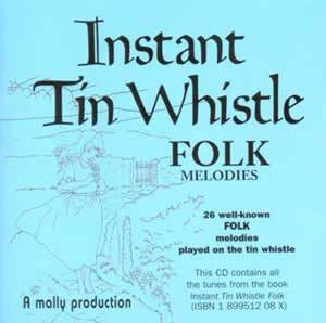 Media Instant Tin Whistle Folk CD