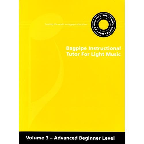Media Instructional Tutor for Light Music - Advanced Beginner Level, Volume 3, Book