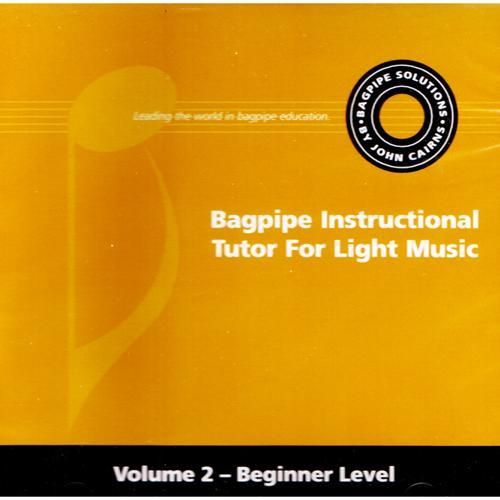 Media Instructional Tutor for Light Music - Beginner Level, Volume 2, Companion CD