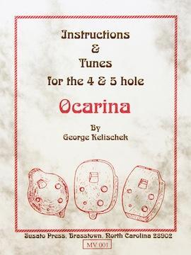 Media Instructions and Tunes for the 4 and 5-Hole Mini-Ocarina