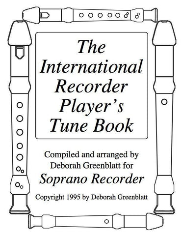 Media International Recorder Player's Tune Book Vol. I for 2 soprano recorders