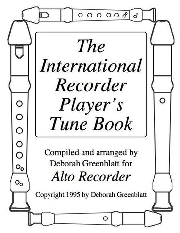 Media International Recorder Player's Tune Book Vol. II for 2 alto recorders