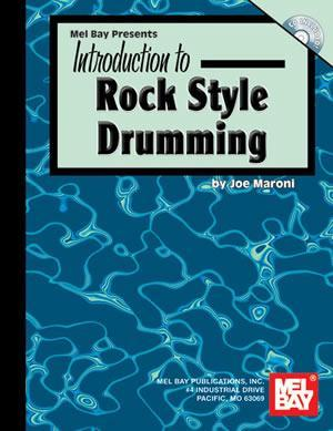 Media Introduction to Rock Style Drumming  Book/CD Set