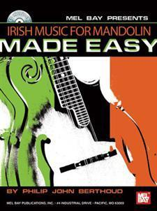 Media Irish Music for Mandolin Made Easy  Book/CD Set