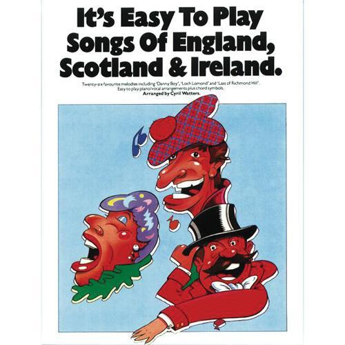 Media It's Easy to Play Song of England, Scotland & Ireland