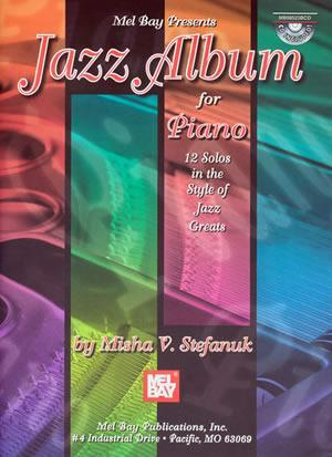 Media Jazz Album for Piano  Book/CD Set