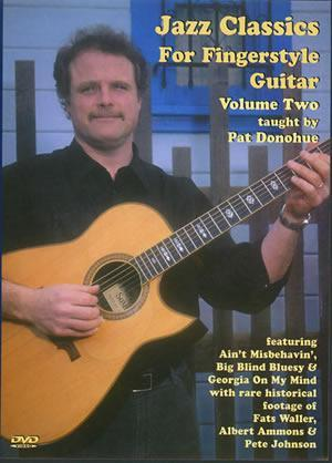 Media Jazz Classics for Fingerstyle Guitar, Volume 2  DVD