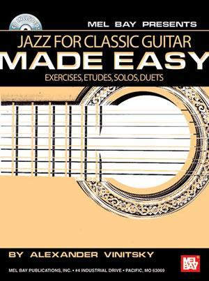 Media Jazz for Classic Guitar Made Easy  Book/CD Set