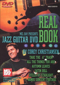 Media Jazz Guitar DVD Real Book  DVD