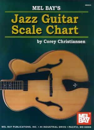 Media Jazz Guitar Scale Chart