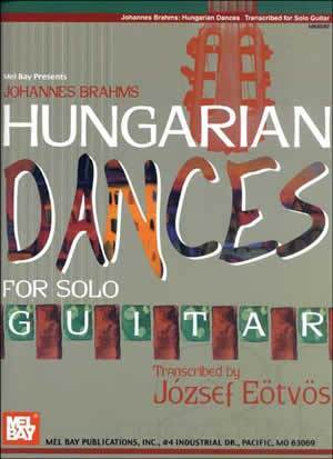 Media Johannes Brahms: Hungarian Dances for Solo Guitar