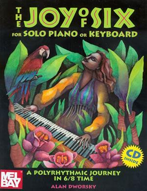 Media Joy of Six for Solo Piano or Keyboard  Book/CD Set