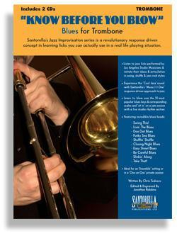 Media Know Before You Blow - Blues for Trombone with 2 CDs