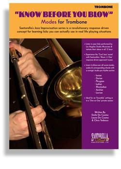 Media Know Before You Blow - Jazz Modes for Trombone with CD