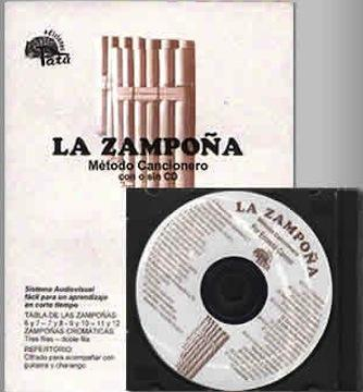 Media La Zampoña Book & CD