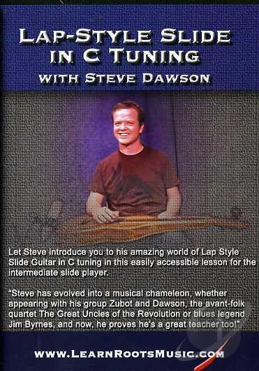 Media Lap-Style Slide In C Tuning With Steve Dawson  DVD