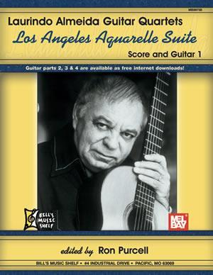 Media Laurindo Almeida: Guitar Quartets, Los Angeles Aquarelle Suite