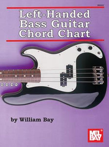 Media Left-Handed Bass Guitar Chord Chart