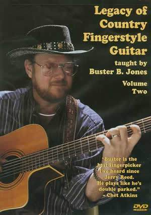 Media Legacy of Country Fingerstyle Guitar Vol. 2  DVD