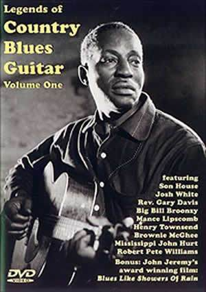 Media Legends of Country Blues Guitar Volume One  DVD
