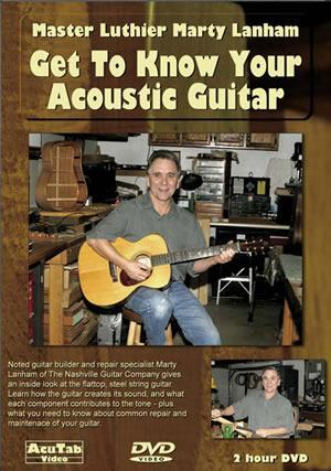 Media Marty Lanham - Get to Know Your Acoustic Guitar  DVD