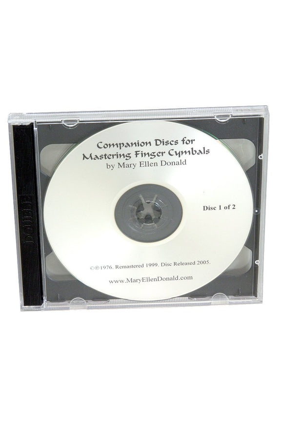 Media Mastering Finger Cymbals Companion CD