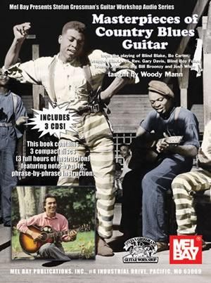 Media Masterpieces of Country Blues Guitar  Book/3-CD Set