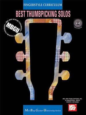Media MBGU Fingerstyle Curriculum: Best Thumbpicking Solos  Book/CD Set
