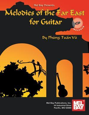 Media Melodies of the Far East for Guitar   Book/CD Set