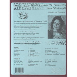 Media Middle Eastern Rhythms for Beginners Book & CD, Vol. 1 & 2