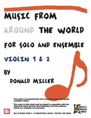Media Music From Around The World For Solo & Ensemble