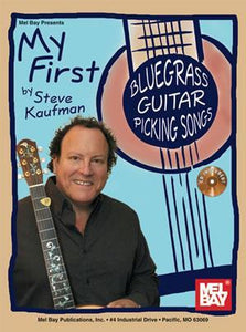 Media My First Bluegrass Guitar Picking Songs Book/CD Set