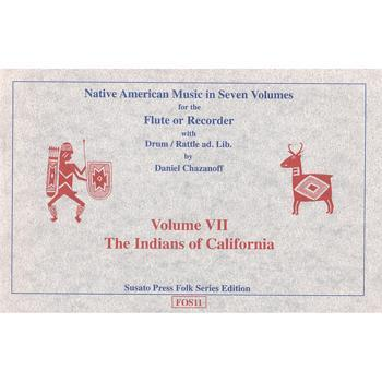 Media Native American Music in Seven Volumes, Vol. 7: The Indians of California