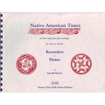 Media Native American Tunes in 3 & 4 part settings for recorders or flutes
