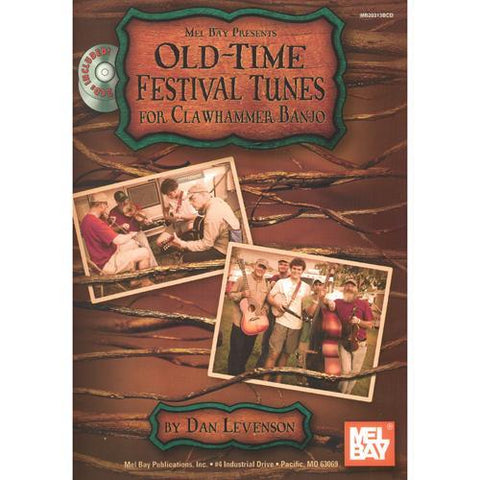 Media Old-Time Festival Tunes for Clawhammer Banjo