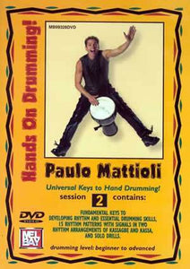 Media Paulo Mattioli's Hands On Drumming DVD, Session 2