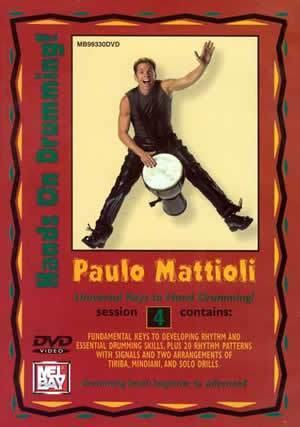 Media Paulo Mattioli's Hands On Drumming DVD, Session 4