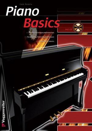 Media Piano Basics, English Edition  Book/CD Set