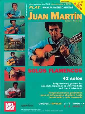 Media Play Solo Flamenco Guitar with Juan Martín  Book/CD/DVD Set