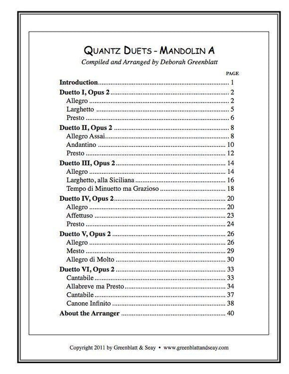 Media Quantz Duets - Mandolin A