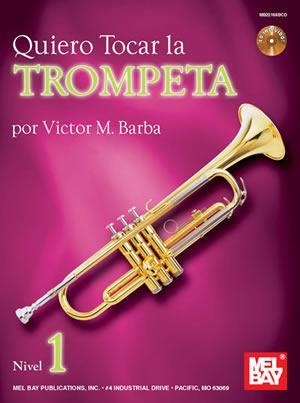 Media Quiero Tocar La Trumpeta Book/CD Set