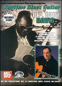 Media Ragtime Blues Guitar of Rev. Gary Davis Book/3-CD Set
