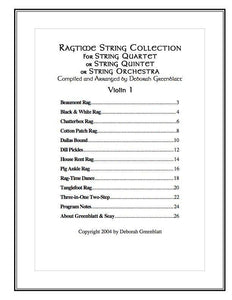 Media Ragtime String Collection - Parts