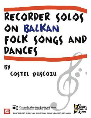 Media Recorder Solos on Balkan Folk Songs and Dances
