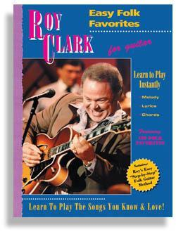 Media Roy Clark Easy Folk Favorites for Guitar
