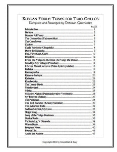 Media Russian Fiddle Tunes for Two Cellos