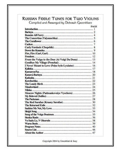 Media Russian Fiddle Tunes for Two Violins
